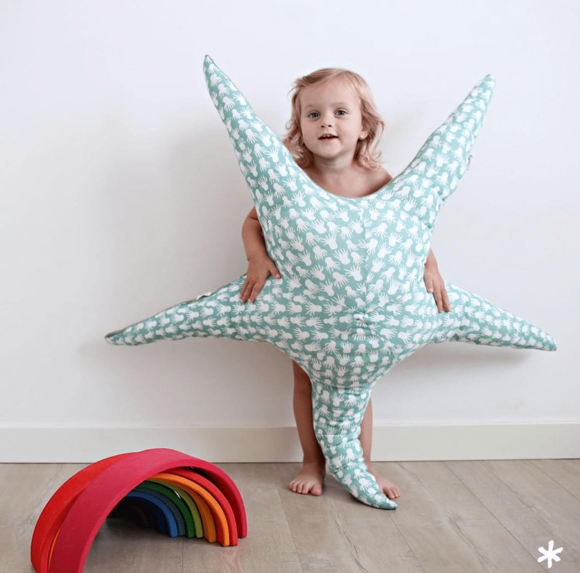 Cojín estrella de mar Octopus - Fun*das bcn