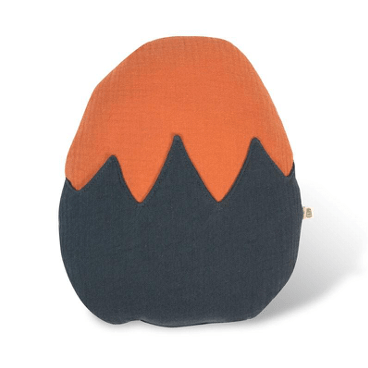 Cojín en forma de huevo Teja