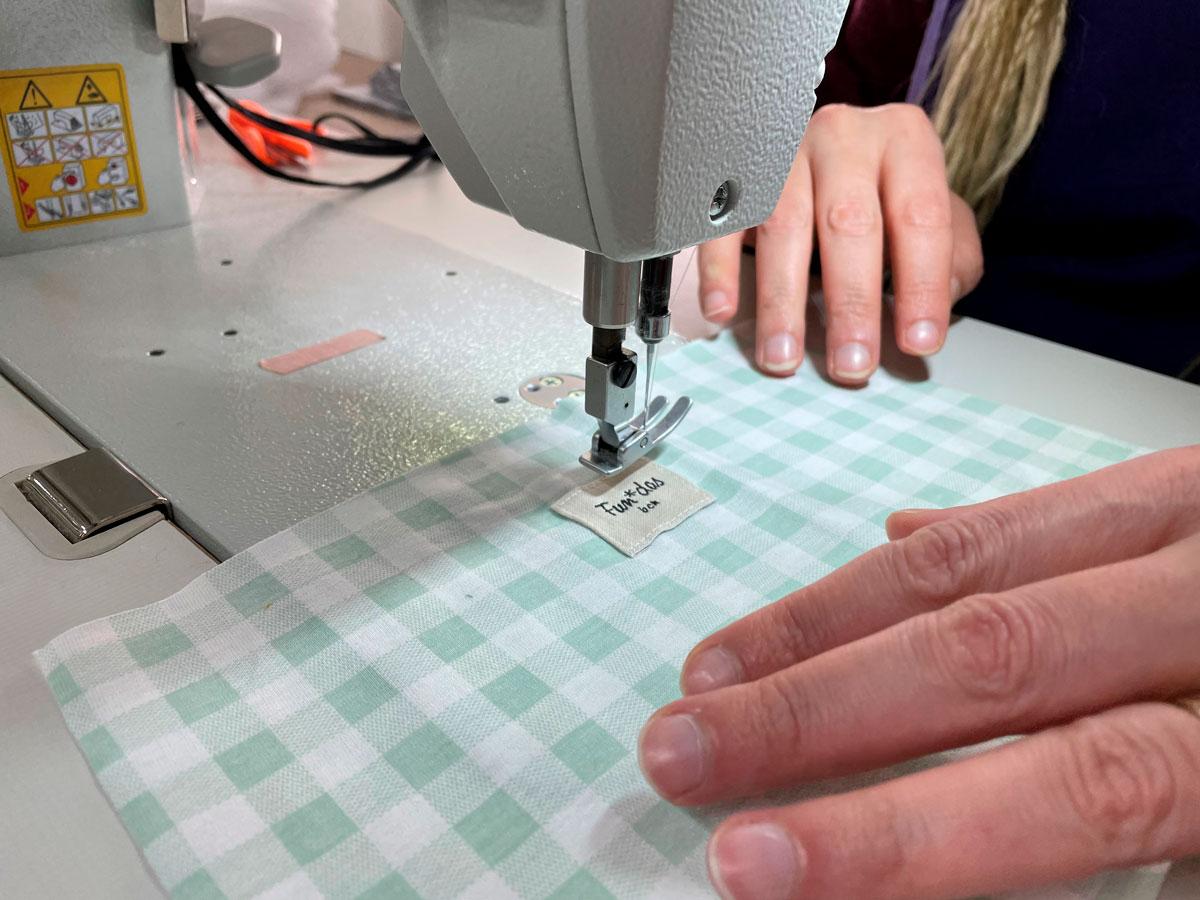 producción textil local en Barcelona