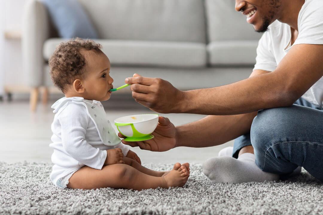 reflejo de extrusion en bebe de 8 meses